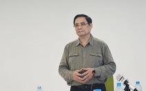 Thủ tướng làm việc với công ty kiến nghị cấp phép khẩn vắc xin Nano Covax