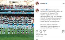 Ronaldo viết tâm thư bày tỏ nỗi lòng sau khi đội tuyển Bồ Đào Nha bị 'soán ngôi'