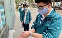 Tuyển sinh lớp 10 tại Hà Nội: Đeo khẩu trang, không bật điều hòa
