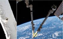 Rác vũ trụ chọc thủng cánh tay robot của trạm không gian ISS