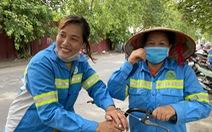 Công nhân môi trường bị nợ lương: 'Được cộng đồng quan tâm, chị em hạnh phúc lắm'