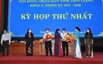 Ông Nguyễn Văn Vĩnh tái đắc cử chủ tịch UBND tỉnh Tiền Giang