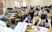 Thi tốt nghiệp THPT đợt 1 hay không: Hãy hỏi học sinh