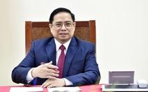 Thủ tướng Phạm Minh Chính điện đàm với Thủ tướng Quốc vụ viện Trung Quốc