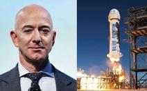 Tỉ phú Mỹ Jeff Bezos tuyên bố sẽ bay vào vũ trụ