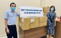 United International Pharma cùng Bắc Ninh, Bắc Giang chống dịch COVID-19