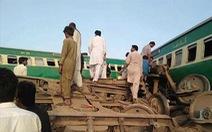 Hai đoàn tàu đâm nhau tại Pakistan, ít nhất 30 người thiệt mạng