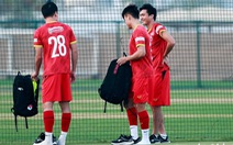 Tuấn Anh tập luyện cùng tuyển Việt Nam