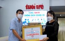 Doanh nghiệp tiếp tục ủng hộ vật tư y tế cho tuyến đầu chống dịch