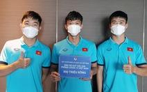 Đội tuyển Việt Nam ủng hộ 300 triệu đồng cho Quỹ vắc xin phòng, chống COVID-19