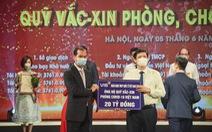 VIB cùng ngành Ngân hàng đóng góp vào Quỹ vắc xin phòng COVID-19