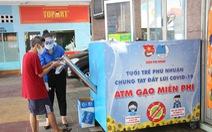 Quận Phú Nhuận khởi động ATM gạo - một miếng khi đói bằng một gói khi no