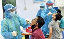 Nữ công nhân mới vào làm việc tại Khu chế xuất Tân Thuận mắc COVID-19