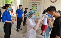 Thí sinh thi ở điểm thi Trần Quốc Tuấn, TP Quảng Ngãi âm tính với COVID-19