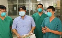 Chiến sĩ công an quận Tân Phú mắc COVID-19 nặng đã xuất viện sau hơn 1 tháng điều trị
