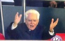 Hoàng tử Anh 7 tuổi buồn thiu, còn Tổng thống Ý Mattarella 79 tuổi phấn khích gây sốt