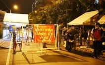 Gỡ phong tỏa chung cư Ehome 3 ở Bình Tân