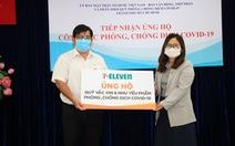 7-Eleven chung tay ủng hộ quỹ vắc-xin và nhu yếu phẩm chống dịch COVID-19