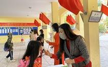 Hà Nội khuyến khích các trường tuyển sinh lớp 1 trực tuyến
