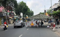 Dời chốt ở đường Nguyễn Kiệm, nới lỏng kiểm tra qua các chốt ở Gò Vấp