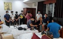 Hơn 40 thanh niên tụ tập chơi ma túy trong khách sạn