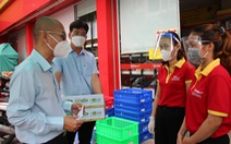 Sở Công thương TP.HCM kiểm tra các siêu thị, cửa hàng tại khu phong tỏa
