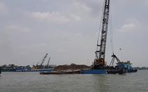 Doanh nghiệp trúng đấu giá mỏ cát trên sông Hậu đã nộp hơn 50 tỉ đồng