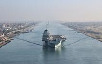 COVID-19 tấn công hạm đội tàu sân bay Anh