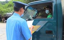 Nông sản ùn ứ ở cửa ngõ TP.HCM, không tắc ở Lâm Đồng