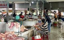 Không có siêu thị, thị xã Phú Mỹ mở chợ truyền thống trong thời giãn cách
