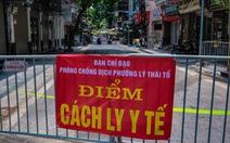 Dịch COVID-19 ngày 19-7: CDC Hà Nội tìm người đến nhà thuốc ở Láng Hạ