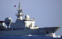 Trung Quốc điều thêm tàu đi do thám Úc, Mỹ và đồng minh tập trận