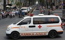 TP.HCM huy động toàn bộ xe cứu thương tại cơ sở y tế để chuyển F0 đi điều trị