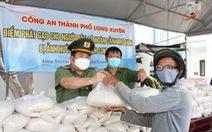 Giám đốc Công an An Giang vận động 36 tấn gạo tặng hộ nghèo trong dịch COVID-19