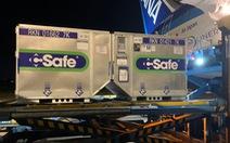 400.000 liều vắc xin Nhật Bản tặng tiếp tục hạ cánh TP.HCM lúc rạng sáng
