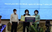 TP.HCM: 23 doanh nghiệp ủng hộ phòng dịch 279 tỉ đồng