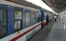 Tàu hỏa chưa thể chở người dân ở TP.HCM về quê vì chưa được phép đón khách