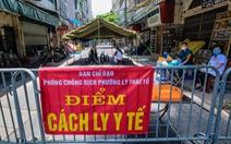 Số ca COVID-19 mới trong ngày ở Hà Nội tiếp tục tăng