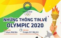 Những thông tin cần biết về Olympic Tokyo 2020