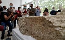 Phát hiện phiến đá hiếm đánh dấu ranh giới của thành phố Rome
