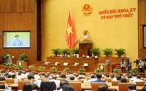37 bí thư tỉnh ủy, thành ủy làm trưởng đoàn đại biểu Quốc hội