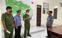 Bắt trạm trưởng kiểm lâm nhận tiền hối lộ để lâm tặc vào phá rừng