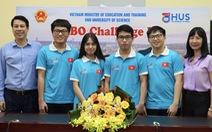 Bốn học sinh Việt Nam giành huy chương Olympic sinh học quốc tế năm 2021
