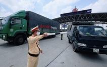Xe 'luồng xanh' được đi qua Hà Nội trong thời gian giãn cách xã hội