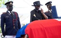 Biểu tình nổ ra ngay cạnh nơi tổ chức tang lễ cố tổng thống Haiti