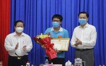 TP Cần Thơ đón chàng trai vàng Olympic sinh học quốc tế trong niềm vui, ấm áp
