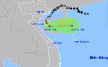 Áp thấp nhiệt đới cách Nam Định – Ninh Bình 120km, gây sóng lớn và mưa to
