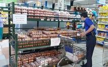 TP.HCM: sức mua giảm, trứng 'ê hề'