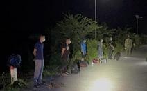 10 thanh niên qua Campuchia trái phép rồi tìm cách về lại Việt Nam