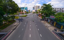 TP.HCM: Đường phố thưa vắng để ngày tấp nập trở lại sớm hơn